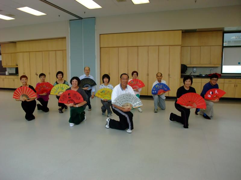 Milliken On the Move - Older Adult Club - Tai Chi Fan This